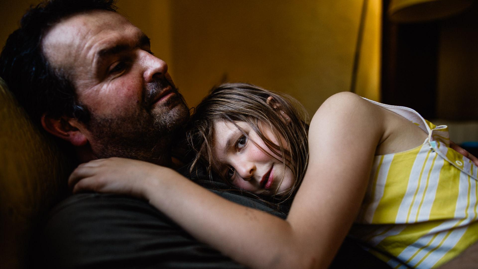 Photo de Famille - père et fille