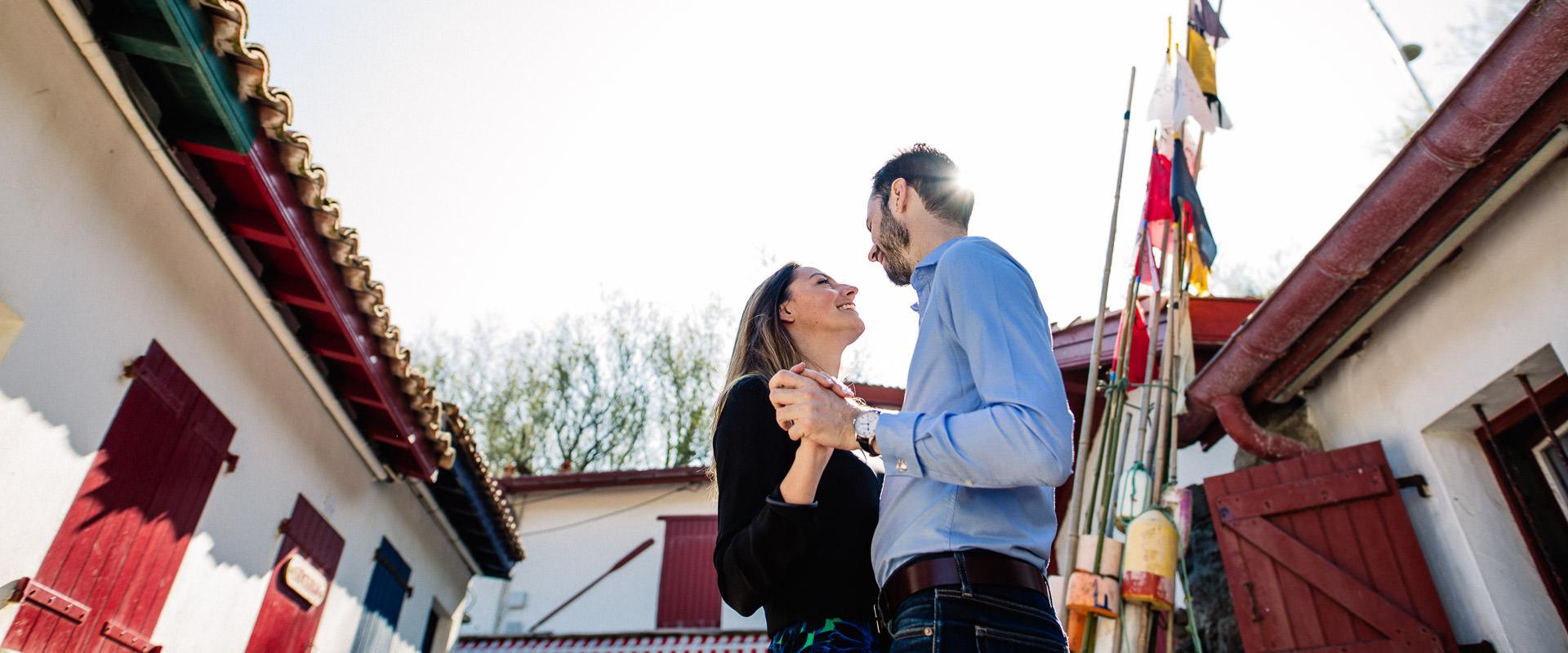 photographe couple amoureux pau
